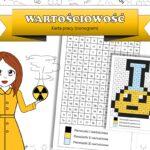 Klasa 7. Chemia – Wzory chemiczne (Materiały edukacyjne. Klocki i karta pracy)