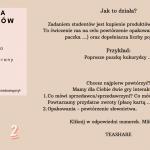 DATY: język polski dla obcokrajowców – gra planszowa