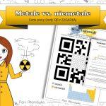 Klasa 7 Chemia – Substancje vs. ciała fizyczne. Kody QR.