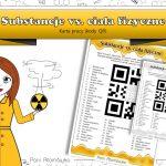 Klasa 7 Chemia – Substancje vs. ciała fizyczne. Kody QR z ZAGADKĄ.