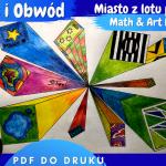 Zestaw Projektów: Math and Art – Miasto z lotu ptaka + Drzewo Pitagorasa + Złota Spirala Fibonacciego