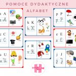 Alfabet – kredki